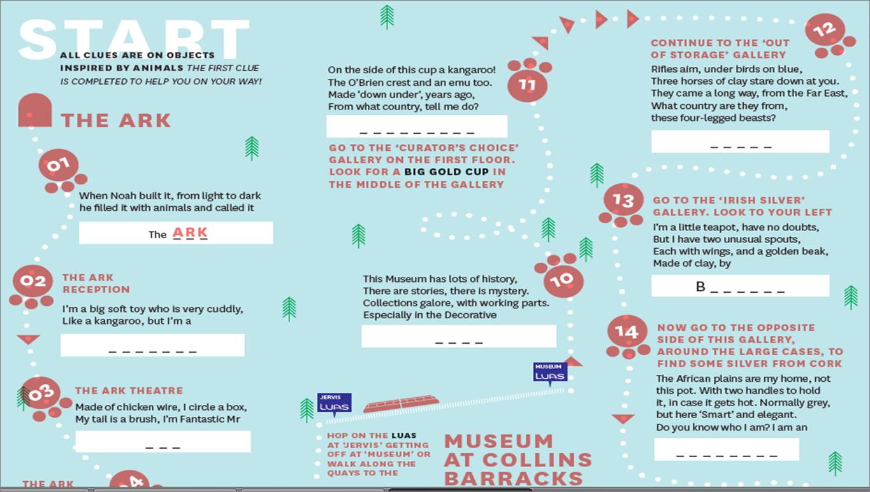 Treasure Hunt Ideas >> Linking cultural experiences – Hello I'm Oonagh